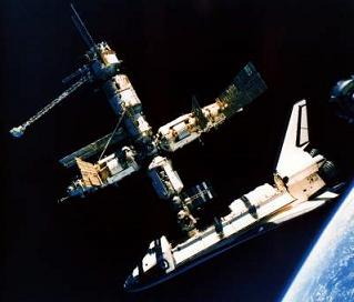 after a storied 25 years atlantis celebrates one final time in orbit. Black Bedroom Furniture Sets. Home Design Ideas
