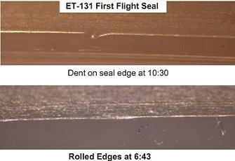 STS-131 Flight Seal vs L2