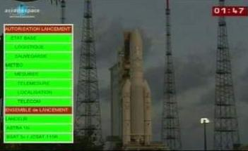 Ariane 5 ECA finally launches with ASTRA 1N and BSAT-3c/JCSAT-110R