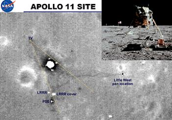 Protecting Apollo sites from future visiting vehicles under NASA