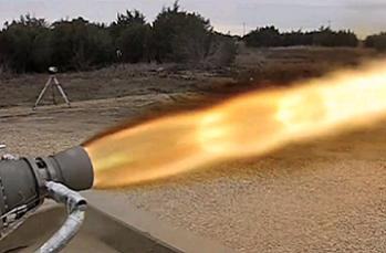 SpaceX Draco firing