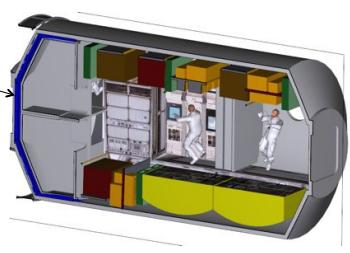 Space Station Living Quarters - Pics about space