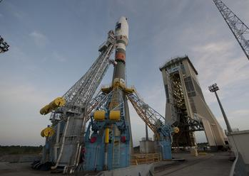 New Soyuz Pad