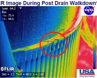 The Stringer Crack IR Image via L2
