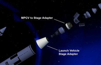 NASA Representation of the LVSA and MSA