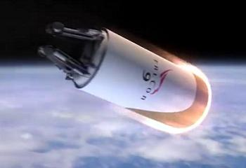 F9r Upper Stage heading home