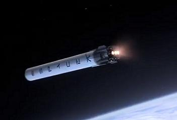 Falcon 9r - Firing to deorbit