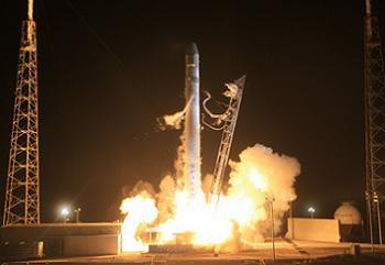 Falcon 9 SpX-D Launch via SpaceX