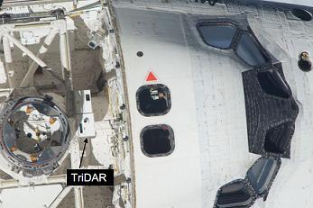 TriDAR on Shuttle