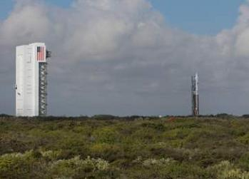 Atlas V rollout with TDRS-K via L2
