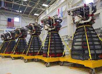 SSME RS-25Ds heading to their new life with SLS
