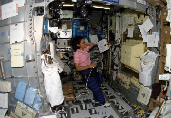 Work during STS-107