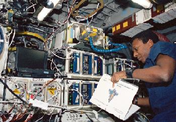 Anderson on STS-107