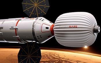 Notional Mars Inspiration Ship