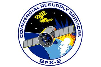 NASA's SpX-2 Mission Patch