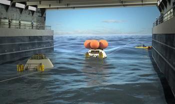Orion LPD Test Simulation Slide