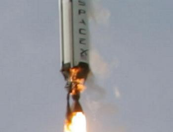 Falcon 1 failing during launch