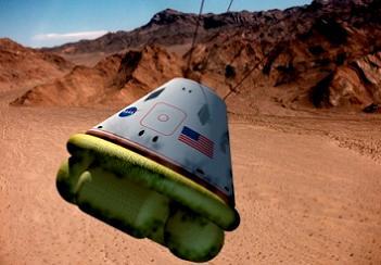 Orion Airbag Landing