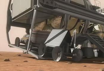 Setting up a Mars Base ahead of Human arrival, via L2 video