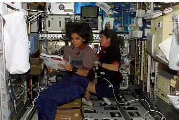 Crew on STS-107