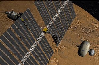 Boeing's Mars Mission Ship, via L2
