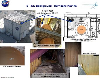 MAF Damage from Katrina, via L2
