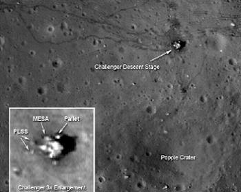 LRO Apollo 17