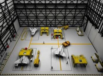 Dream Chaser Fleet in OPF, via L2
