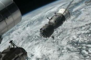 Soyuz Departure