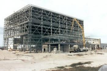 OPF-3 under construction
