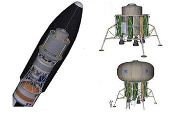 Boeing's use of SLS with Lander, via L2