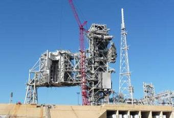 Pad 39B removal of the RSS