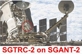 SGANT on ISS