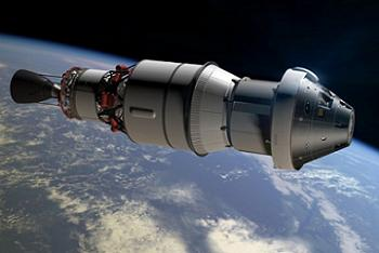 EFT-1 Orion with DCSS