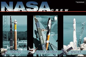 NASA Funding of three Commercial Crew Companies