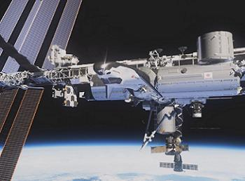 Dream Chaser at the ISS