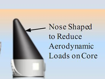 Nose Cone for ATK Advanced Booster