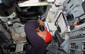 Sturckow on STS-117