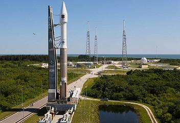 Rollout of Atlas V GPS IIF-4, Cape Canaveral AFS