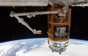 HTV at ISS