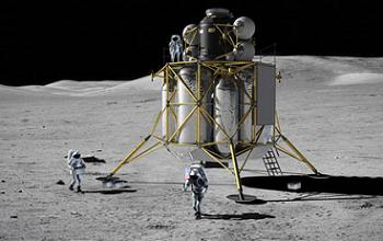 Altair Lunar Lander from NASA's aborted Moon plans