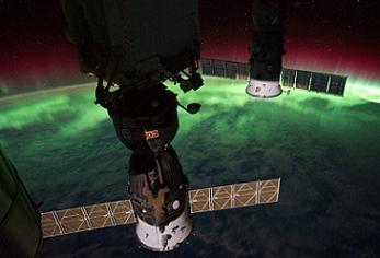 Soyuz and Progress on the ISS