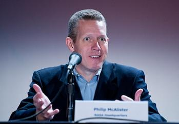 Phil McAlister, director of NASA's commercial spaceflight program