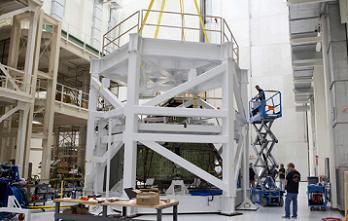 EFT-1 Orion during load tests