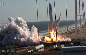 Antares Debut Launch via L2