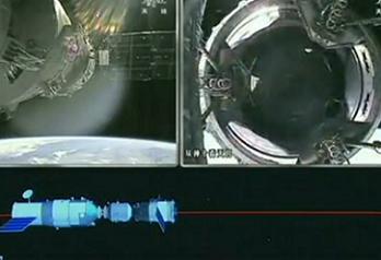 Shenzhou-10 redocking