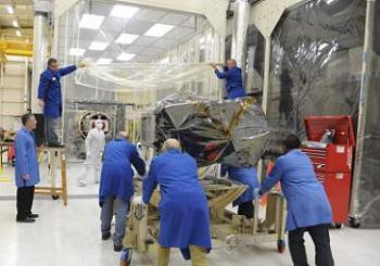 IRIS and Pegasus during processing