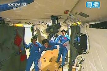Onboard TianGong-1
