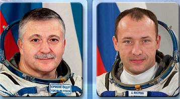 Russia Spacewalkers