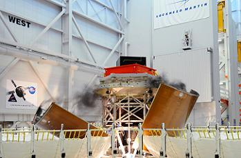 Fairing Panel Jettison Test